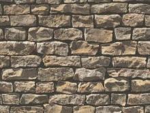 3 Boyutlu Taş Görünümlü Kağıt | Duvar Kağıdı