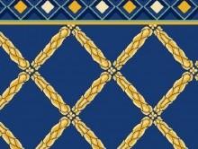 Koridor ve Bordürlü Halılar MAVİ | Duvardan Duvara Halı | Dinarsu