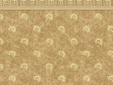 Koridor ve Bordürlü Halılar SARI | Duvardan Duvara Halı | Dinarsu